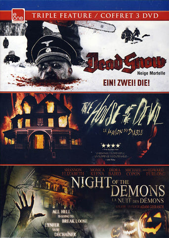 Dead Snow / House of the Devil / Night Of The Demons (Bilingual) DVD Movie