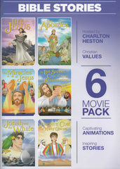 Greatest Heroes and Legends of the Bible (6 movie Pack)
