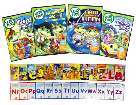Leap Frog Learning Pack #1 (Bonus Flashcards)(Boxset) DVD Movie
