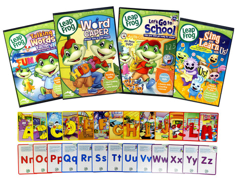 Leap Frog Learning Pack #2 (Bonus Flashcards)(Boxset) DVD Movie