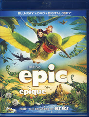 Epic (Blu-ray+DVD)(Bilingual)(Blu-ray)