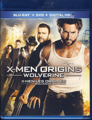 X-Men Origins: Wolverine (Blu-ray+DVD)(Bilingual)(Blu-ray)