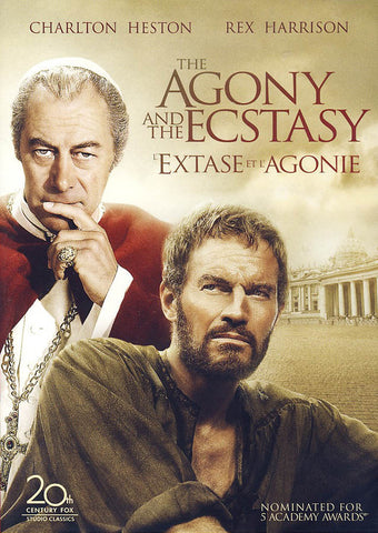 Agony And Ecstasy (Bilingual) DVD Movie