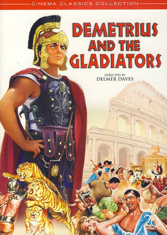 Demetrius and the Gladiators DVD Movie