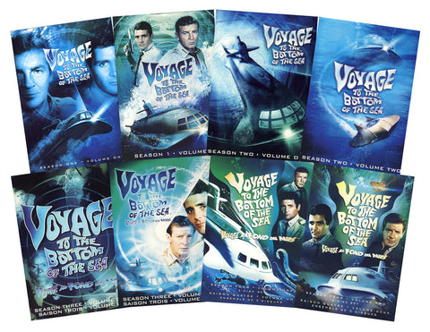 Voyage to the Bottom of the Sea - The Complete Series (Boxset) DVD Movie