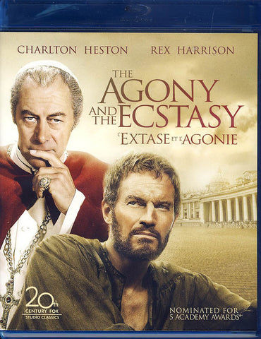 The Agony and the Ecstasy (Bilingual)(Blu-ray) BLU-RAY Movie