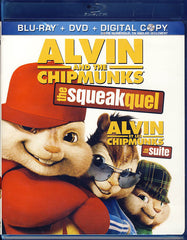 Alvin And The Chipmunks: The Squeakquel (Blu-ray+DVD)(Blu-ray)(Bilingual)