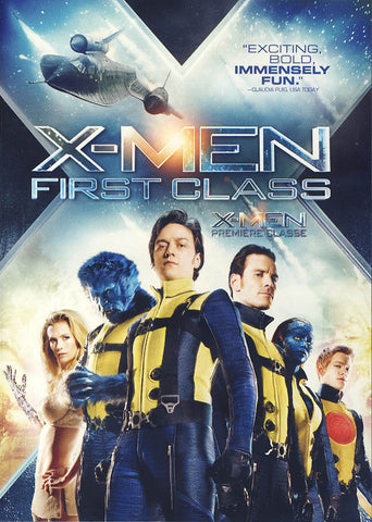 X-men - First Class (Bilingual) DVD Movie