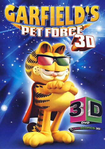 Garfield's Pet Force 3D (Includes both 2D & 3D versions) DVD Movie