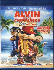 Alvin and the Chipmunks 3: Chipwrecked (Blu-ray+DVD)(Bilingual)(Blu-ray)