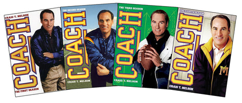 Coach -Season 1, 2, 3, 4 Bundle Pack (Boxset) DVD Movie