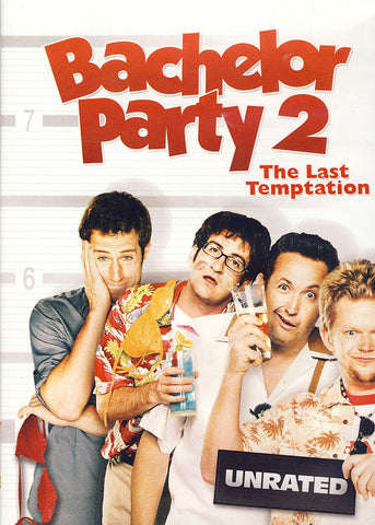 Bachelor Party 2: The Last Temptation (Unrated)(White cover) DVD Movie