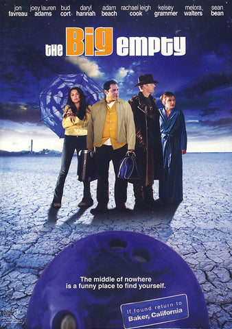 The Big Empty (LG) DVD Movie