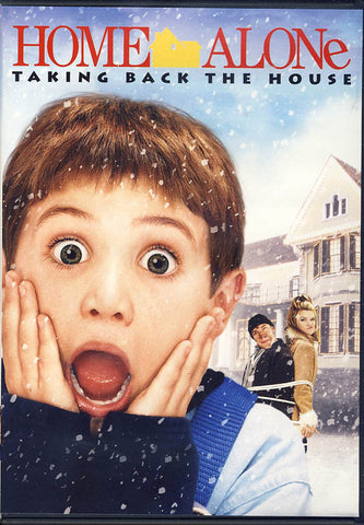 Home Alone - Taking Back The House (Widescreen/Fullscreen) (White Cover) DVD Movie