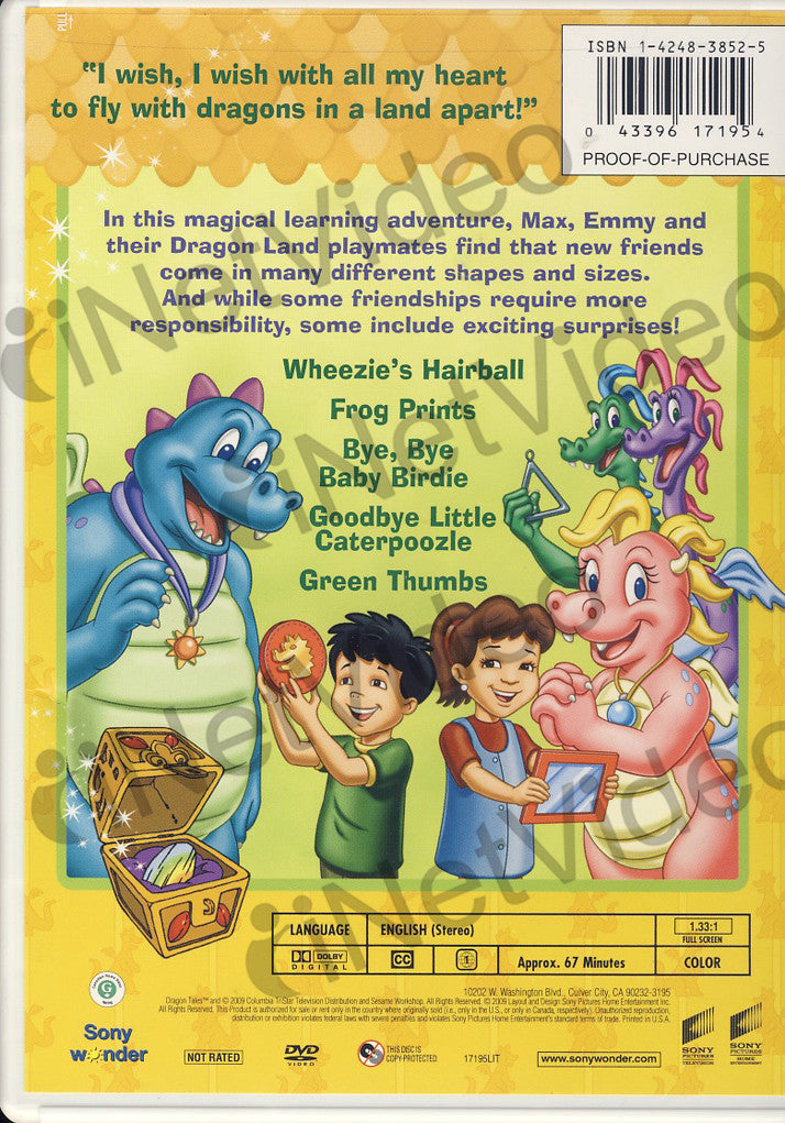 Dragon Tales Our Amazing Pets On Dvd Movie