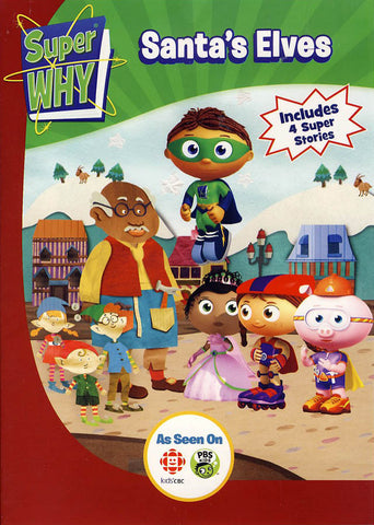 Super Why - Santa's Elves DVD Movie