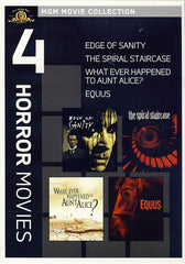 MGM 4 Horror Movies - The Edge of Sanity / The Spiral Staircase / Equus / Whatever Happened to Aunt