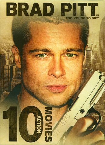 10-Movie Collection featuring Brad Pitt (Boxset) DVD Movie