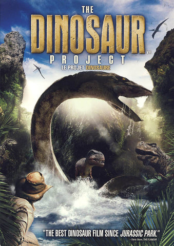The Dinosaur Project (Bilingual)(Slipcover) DVD Movie
