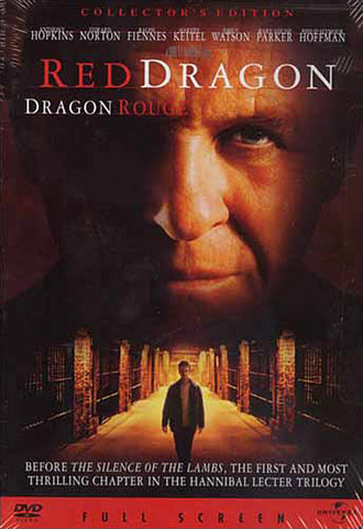 Red Dragon (Full screen Collector s Edition) (Bilingual) DVD Movie