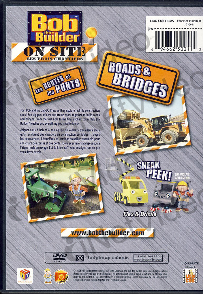 Bob the builder on site roads and bridges bilingual for Questions to ask a builder when buying a new home