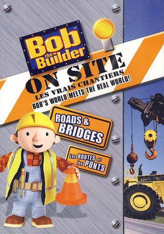 Bob the Builder: On Site - Roads and Bridges (Bilingual) DVD Movie