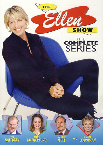 The Ellen Show: The Complete Series (White cover) DVD Movie