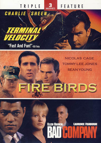 Terminal Velocity/Fire Birds/Bad Company (Triple Feature) DVD Movie