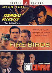 Terminal Velocity/Fire Birds/Bad Company (Triple Feature)