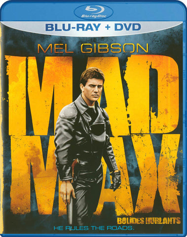 Mad Max (Blu-ray + DVD) (Blu-ray) (Bilingual) (Blu ray Case) BLU-RAY Movie