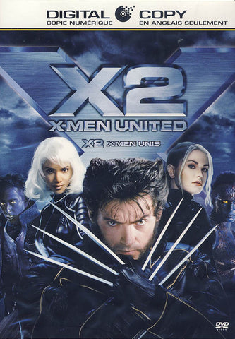 X2: X-Men United (Bilingual) DVD Movie