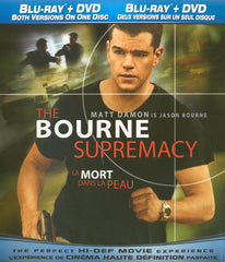 The Bourne Supremacy (Bilingual) (Blu-ray + DVD) (Blu-ray)