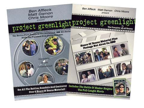 Project Greenlight - The Complete Season 1 & 2 (Boxset) DVD Movie