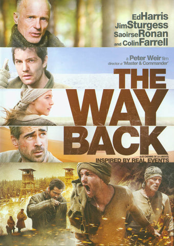 The Way Back (Bilingual) (Alliance) DVD Movie