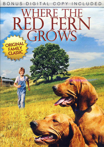 Where the Red Fern Grows (+ Digital Copy) DVD Movie
