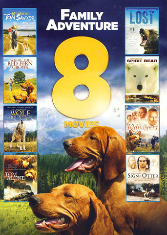 8-Movies Family Adventure (Value Movie Collection) DVD Movie