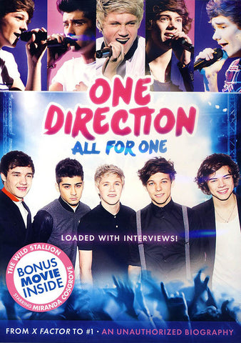 One Direction: All for One (Bonus Movie: The Wild Stallion) DVD Movie