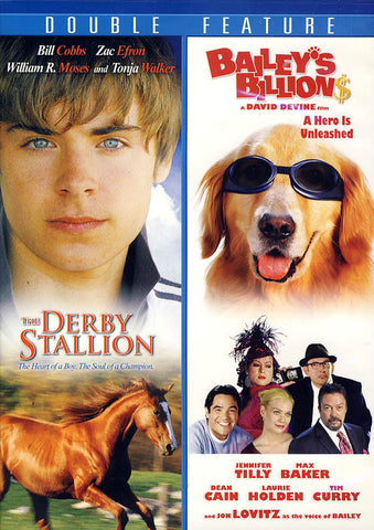 Derby Stallion/Thicker Than Water (Double Feature) DVD Movie