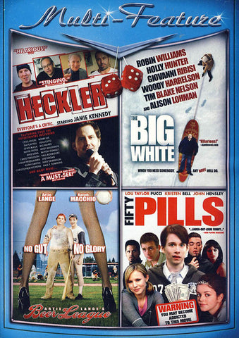 Heckler / The Big White / Beer League / Fifty Pills (Value Movie Collection) DVD Movie
