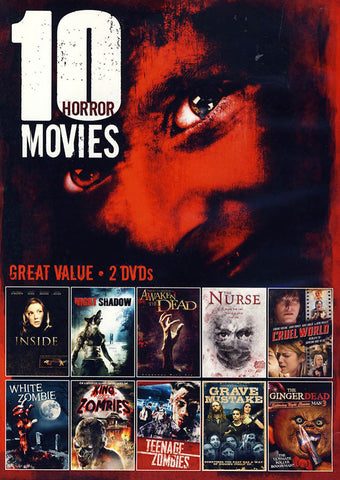 10-Movie Horror Collection(Value Movie Collection) DVD Movie