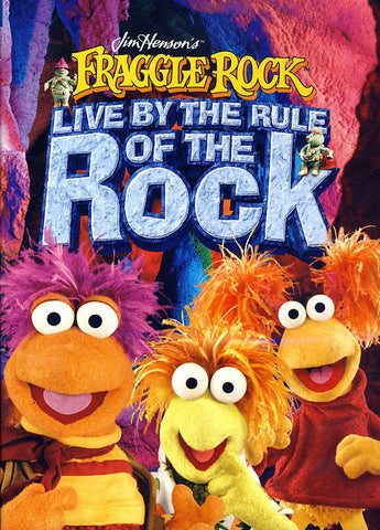 Fraggle Rock - Live by the Rule of the Rock (Jim Henson) DVD Movie