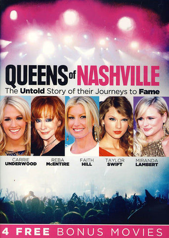 Queens of Nashville (Bonus 4 movies)(Value Movie Collection) DVD Movie