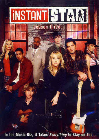 Instant Star: Season 3 DVD Movie