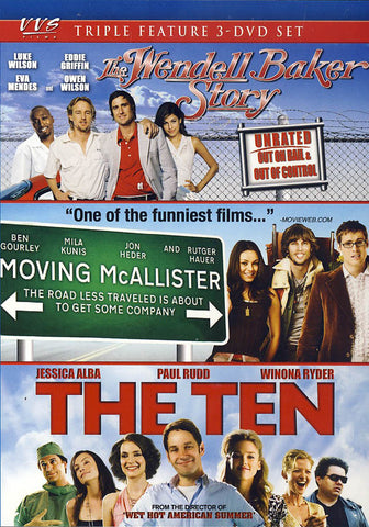 The Wendell Baker Story/Moving McAllister/The Ten (Triple Feature) DVD Movie