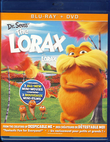 Dr. Seuss' The Lorax [Blu-ray + DVD)(Bilingual)(Blu-ray) BLU-RAY Movie