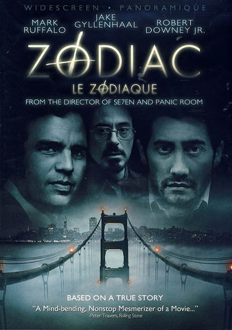 Zodiac(Bilingual) DVD Movie