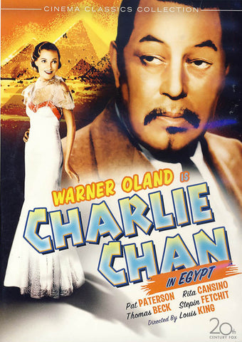 Charlie Chan in Egypt DVD Movie