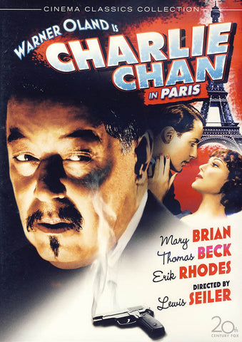 Charlie Chan in Paris DVD Movie