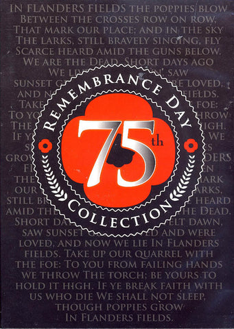 75th Remembrance Day Collection DVD Movie
