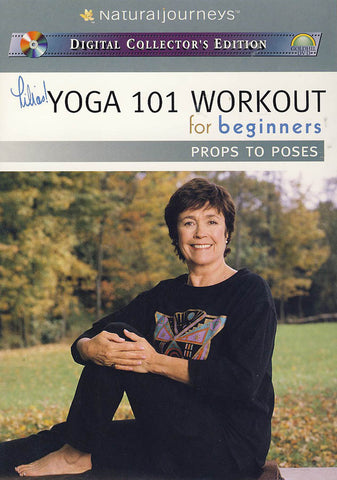 Lilias! Yoga 101 Workout for Beginners: Props to Poses - Daily Routines DVD Movie